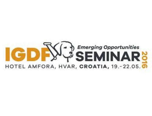 IGDF Seminar: Emerging Opportunities, 19._22. svibanj 2016., Hvar, Hotel Amfora