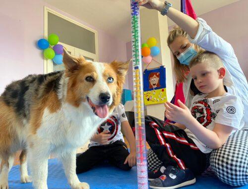 Aktivnosti s terapijskim psom za djecu s teškoćama u razvoju